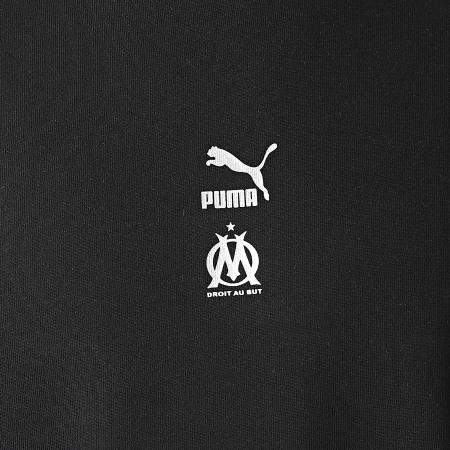 Puma - Sweat Crewneck OM TFS 758733 Noir Bleu