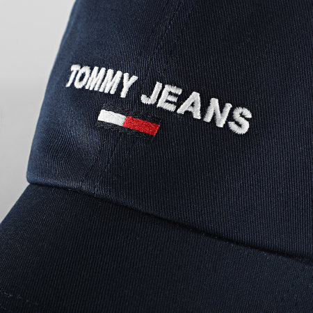 Tommy Jeans - Casquette Sport 7174 Bleu Marine