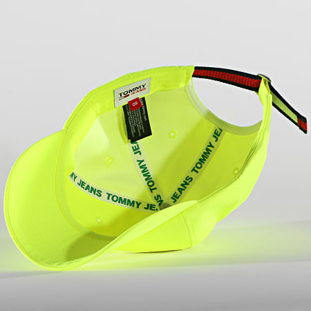 Tommy Jeans - Casquette Sport 7470 Jaune Fluo