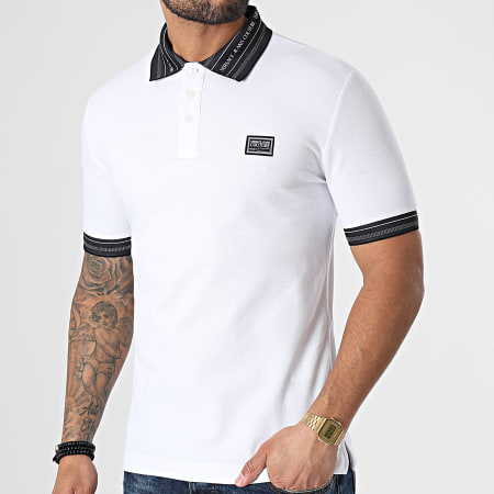 Versace Jeans Couture - Polo Manches Courtes B3GWA7T1-36571 Blanc