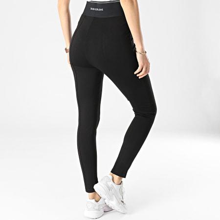 Calvin Klein Jeans - Legging Femme Milano Logo Elastic 5548 Noir