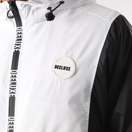 Deeluxe - Veste Zippée Capuche Sam S21620M Blanc Noir Gris Anthracite