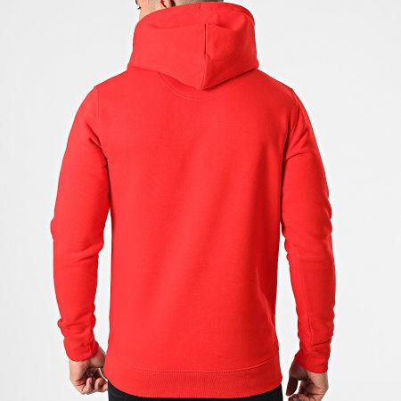 Parental Advisory - Sweat Capuche Logo Rouge Noir