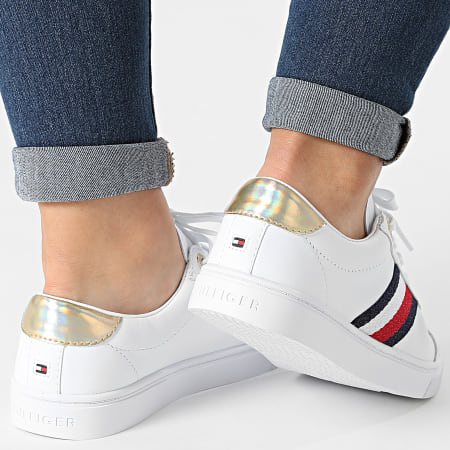 Tommy Hilfiger - Baskets Femme Corporate Cupsole 5545 White