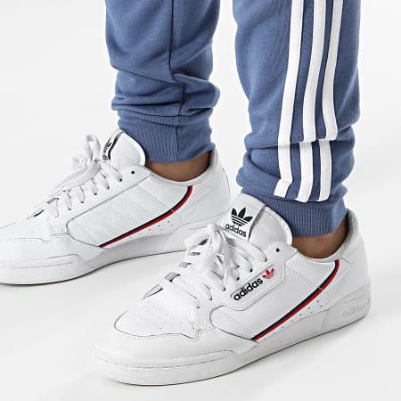 adidas - Pantalon Jogging A Bandes 3 Stripes GN3528 Bleu Clair