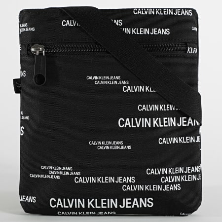 Calvin Klein Jeans - Sacoche Micro Flatpack Urban 6889 Noir