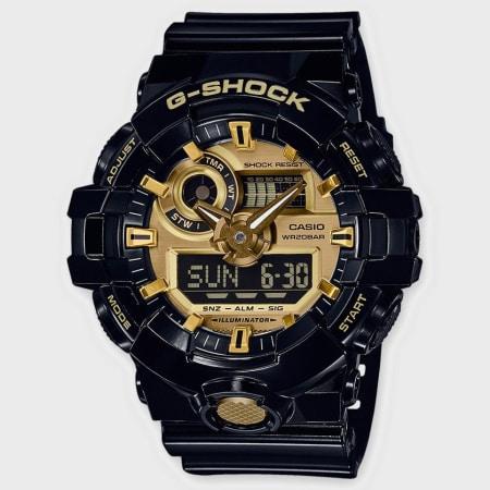 Casio - Montre G-Shock GA-710GB-1AER Noir Doré