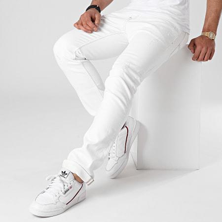 Tommy Jeans - Jean Slim Scanton 9889 Ecru