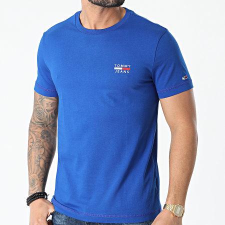Tommy Jeans - Tee Shirt Chest Logo 0099 Bleu Roi