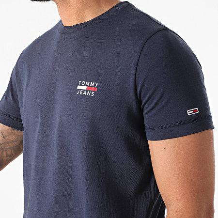 Tommy Jeans - Tee Shirt Chest Logo 0099 Bleu Marine