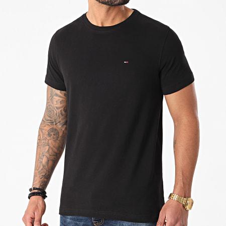 Tommy Jeans - Lot De 2 Tee Shirts CNeck 0705 Blanc Noir