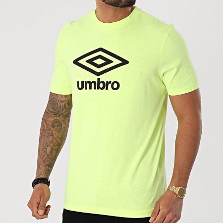Umbro - Tee Shirt 729280-60 Jaune Fluo