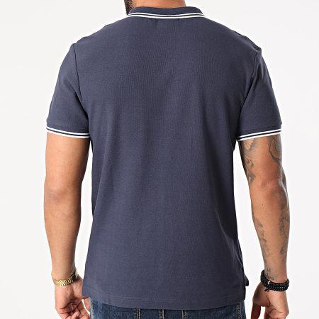 Umbro - Polo Manches Courtes 806450-60 Bleu Marine