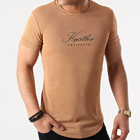 Uniplay - Tee Shirt Oversize UY586 Camel