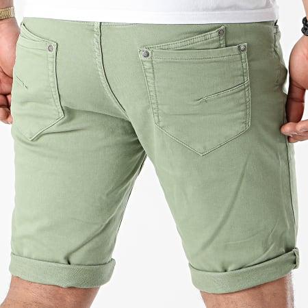 American People - Short JoggJean Slow Vert Kaki