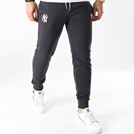New Era - Pantalon Jogging New York Yankees Logo 12740953 Bleu Marine