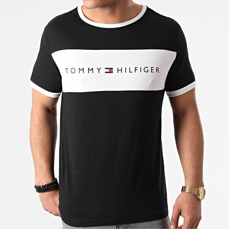 Tommy Hilfiger - Tee Shirt CN Logo Flag 1170 Bleu Marine