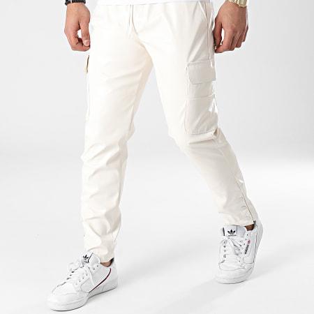 Classic Series - Pantalon Cargo 2417 Blanc Cassé