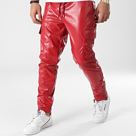 Classic Series - Pantalon Cargo 2417 Rouge