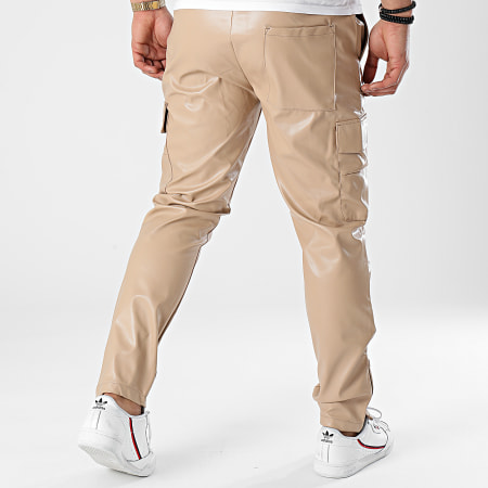 Classic Series - Pantalon Cargo 2417 Beige Foncé