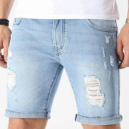 Tiffosi - Short Jean Slim Tandil 10032336 Bleu Denim