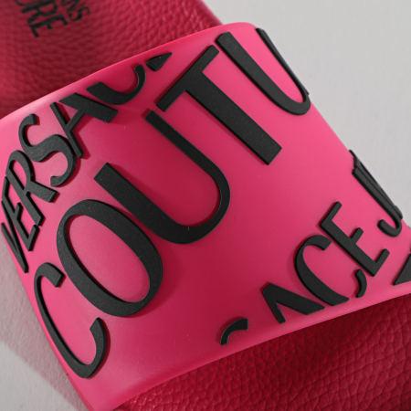 Versace Jeans Couture - Claquettes Femme Linea Fondo Slide E0VWASQ1 Rose