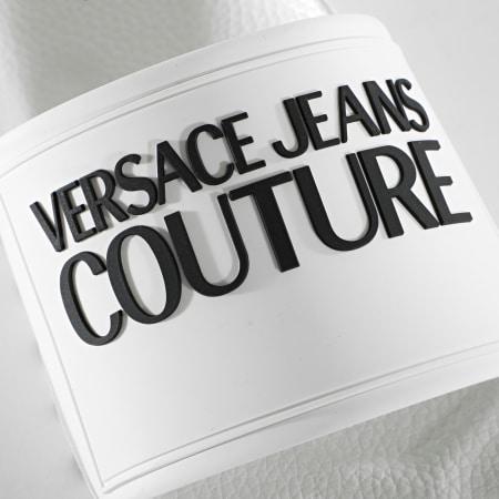 Versace Jeans Couture - Claquettes Femme Linea Fondo Slide E0VVBSQ2 Blanc
