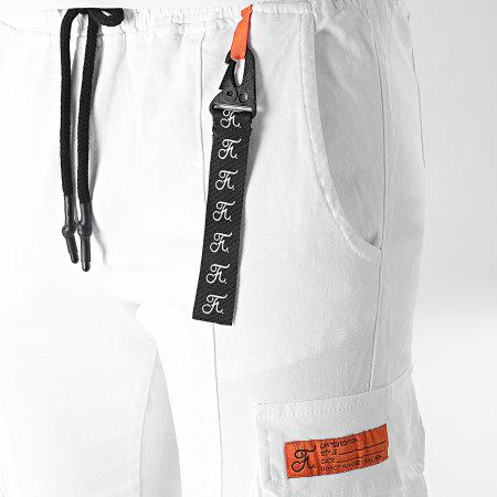 Final Club - Jogger Pant Cargo 537 Blanc