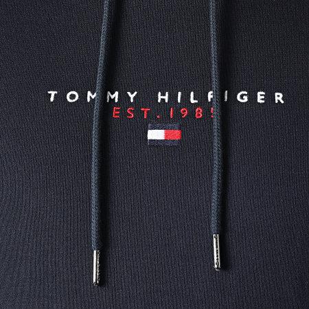 Tommy Hilfiger - Sweat Capuche Essential Tommy 7382 Bleu Marine