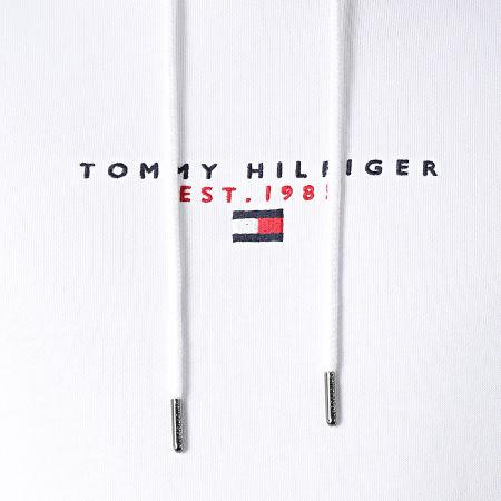 Tommy Hilfiger - Sweat Capuche Essential Tommy 7382 Blanc