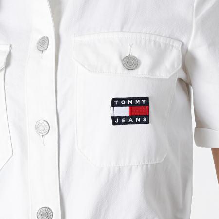 Tommy Jeans - Combinaison Short Boilersuit 9837 Ecru
