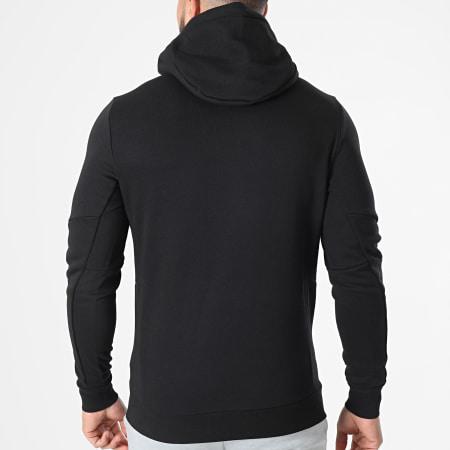 Tommy Sport - Sweat Capuche Logo Fleece 7255 Noir