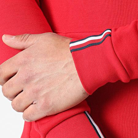 Tommy Sport - Sweat Capuche Logo Fleece 7255 Rouge