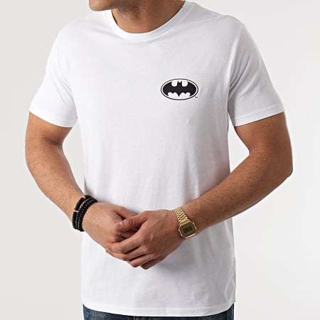 Batman - Tee Shirt Cross Blanc
