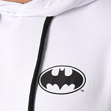 Batman - Sweat Capuche Cross Blanc