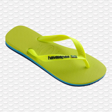 Havaianas - Tongs Brasil Layers Vert