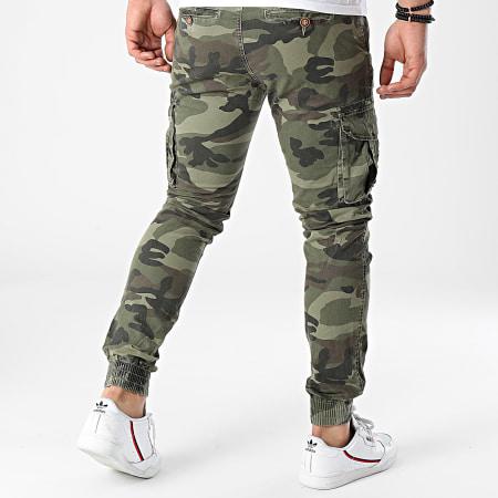 MTX - Jogger Pant 1561 Vert Kaki Camouflage