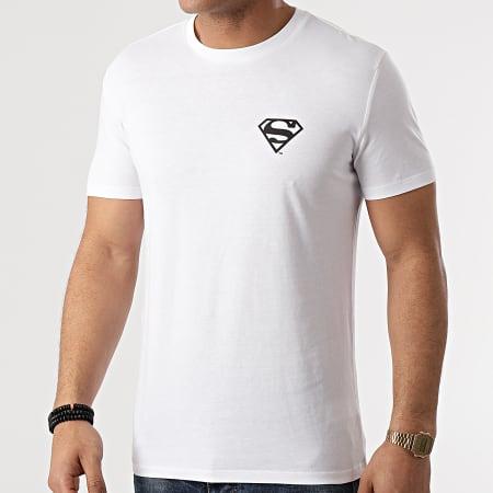 Superman - Tee Shirt Cross Blanc