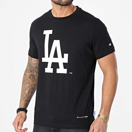 Champion - Tee Shirt 214648 Noir