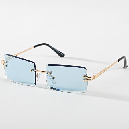 Classic Series - Lunettes De Soleil CV2501 Doré Bleu