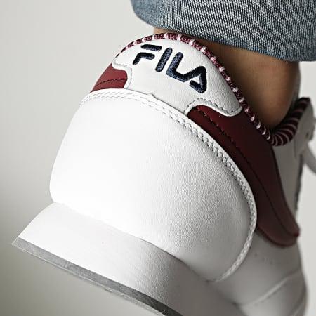 Fila - Baskets Orbit F Low 1011161 White Zinfadel