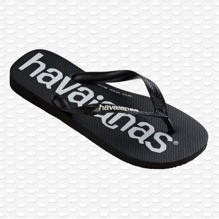 Havaianas - Tongs Top Logo Mania Noir