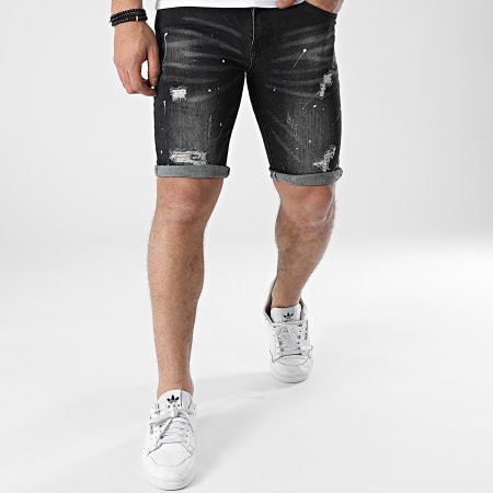 MTX - Short Jean Slim HX6667 Noir