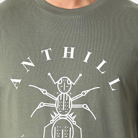 Anthill - Tee Shirt Logo Vert Kaki