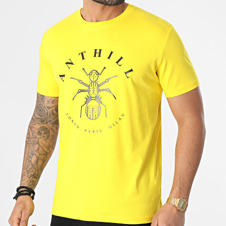 Anthill - Tee Shirt Logo Jaune