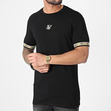 SikSilk - Tee Shirt Premium Tape Gym Noir