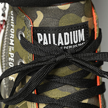 Palladium - Boots Pampa Hi Outzip Uniform Of The People 77023 Camouflage