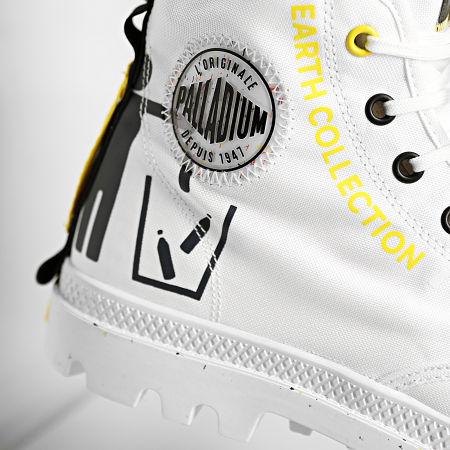 Palladium - Boots Pampa Recycle Metro 77054 Star White