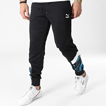 Puma - Pantalon Jogging OM Iconic MCS 758656 Noir