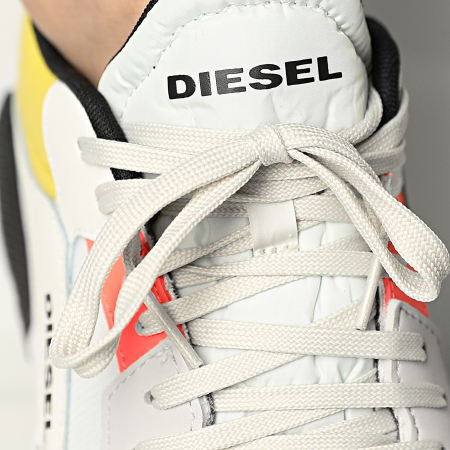 Diesel - Baskets S-Tyche Low Cut Y02635-P4005 Vaporous Grey White Lemon Zest
